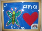 A gift from Ana, one of the kids who benefit from Bar Frida's movie nights.  Ana travels to GDL for treatments for HIV which she was born with.  Facilities in Vallarta are not equipped to treat kids.